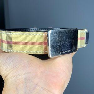 👢Burberry Leather Belt 👢